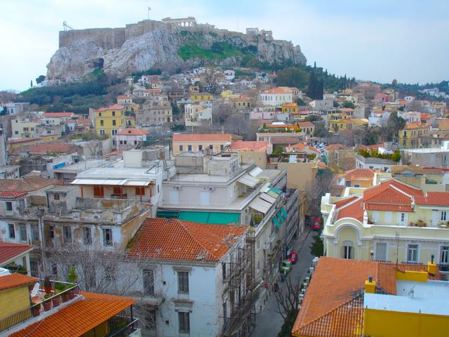 View from Hotel in Athens