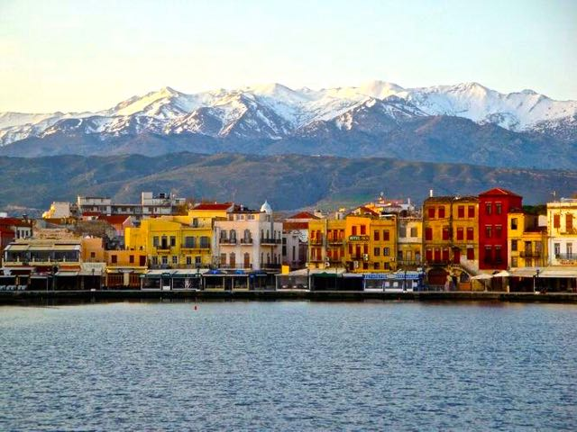 Chania, Crete in the winter