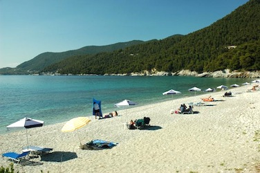 Milia Beach, Skopelos, Greece