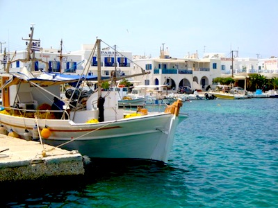 Port of Antiparos, Greece