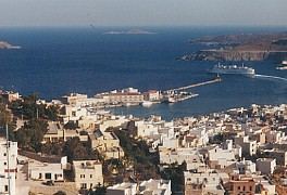Hermopoulis, port of Syros, Capital of the Cyclades