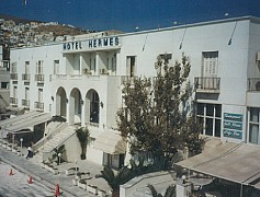 Hotel Hermes in Hermopoulis, Syros