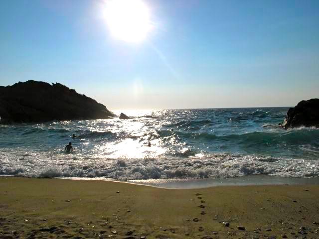Beach in Ikaria, Greece
