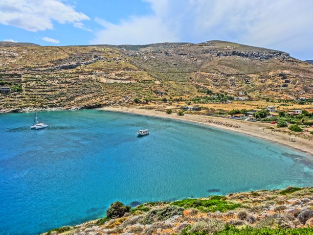 Kea Greece  city photos gallery : Kea Greece Beaches Spathi Beach Kea Greece