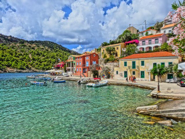 Fiscardo Kefalonia Greece