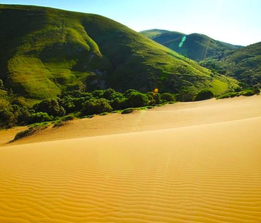 Пустинята в Лемнос