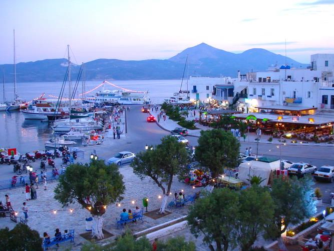 Hotels In Milos Greece