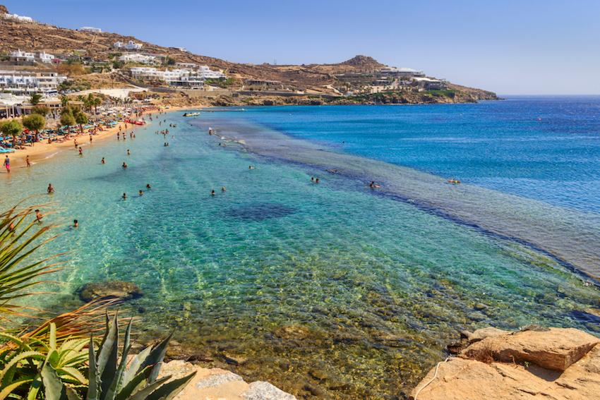 Best Island Beaches For Partying Mykonos St Barts: Mykonos Beaches