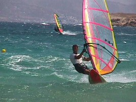 windsurfing, Greek islands windsurfing, Paros windsurfing, Greece, Paros, Greek islands