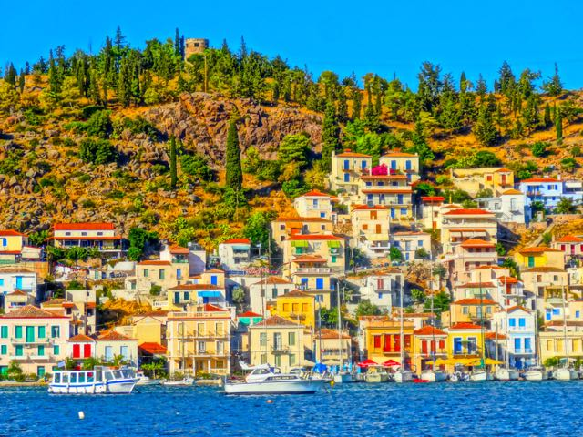 Don Lemon >> Greece Travel: Arrival on Poros Island