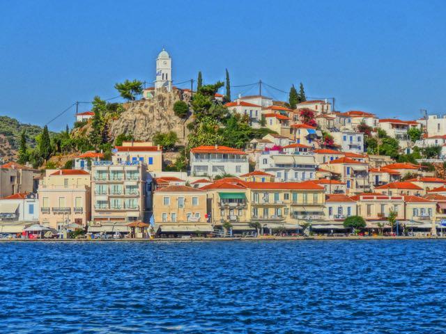 Nice Greek Islands Close To Athens