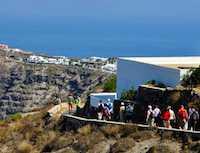 Greek islands: Santorini
