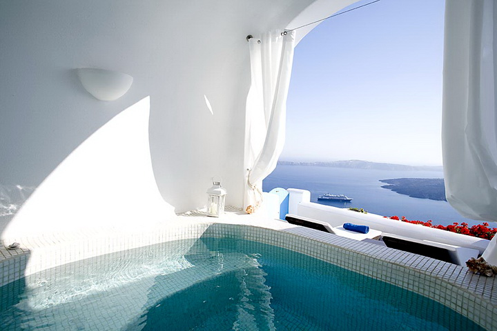 Santorini Cave Hotel Greece Room