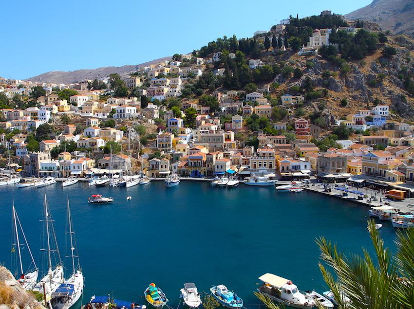 Greek Islands By Population