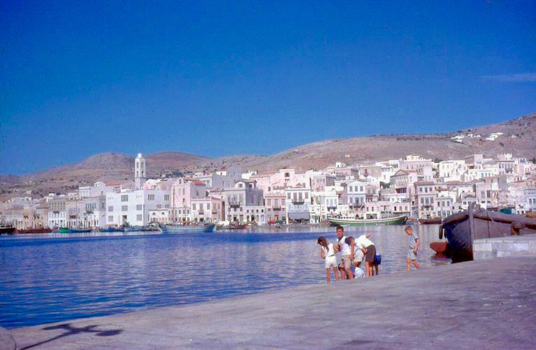 Photo Syros In The 60 S