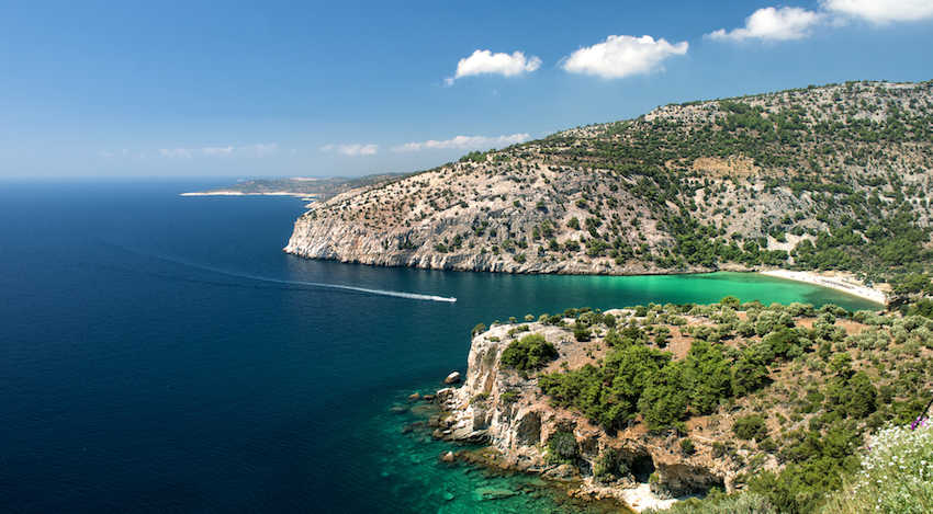 Greek Islands Thassos
