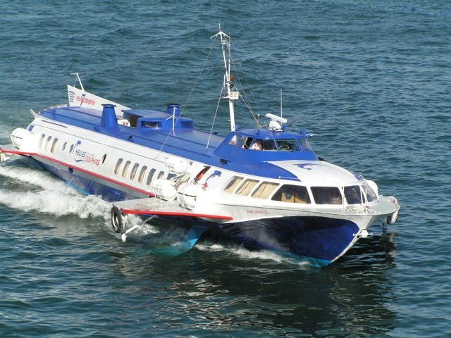 Fast Ferries In Greek Islands