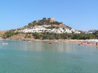 Greece, Greek Islands, Lindos in Rhodes